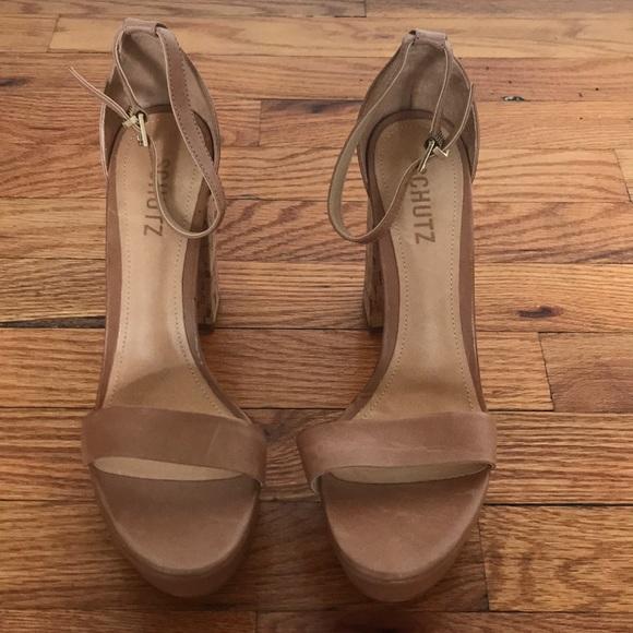 SCHUTZ Shoes - Schutz Platform Sandal Heels